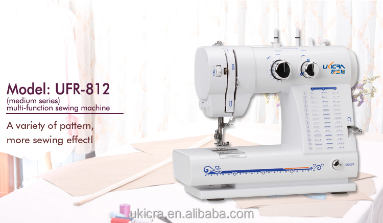 42 stitches Multifunction household sewing machine UFR-812