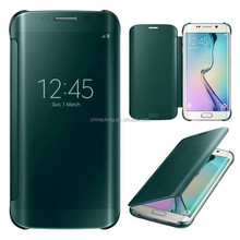For Samsung Galaxy S6 Edge Clear View Mirror Smart Case