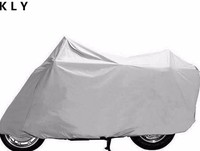 polyester with sliver coating waterproof motorcycle cover