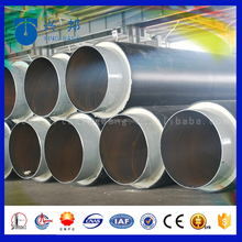 high temperature heat resistant and waterproof polyurethane insulation pipe for hot water supply