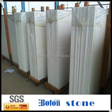 <Boton Stone>Easy To Clean Super White Marmoglass For Kitchen Countertop
