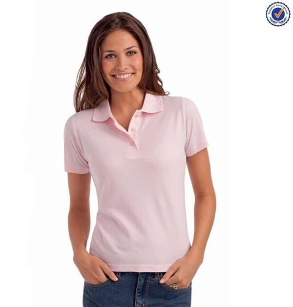 New Design Plain Blank Women Polo Wholesale