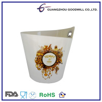 4.0L FDA/CE safe Plastic with bottle openner Bar ice bucket