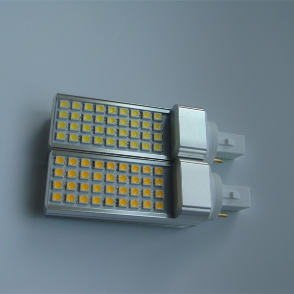 Halogen replacement New hot products PL G24 Aluminum SMD G23 High brightness High lumen 5050 85-265V 10W LED G24 lamp 4 pins g24