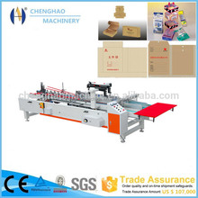 carton making machine / carton folder gluer machine / CHENGHAO Good Quality High speed automatic folder gluer
