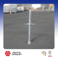 scaffolding jack base/accessories/thread rod /nut and plate