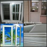 upvc profile doors and windows made in china