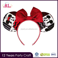 Red Bow Minnie Ears minnie mouse party supplies for mickey minnie mouse
