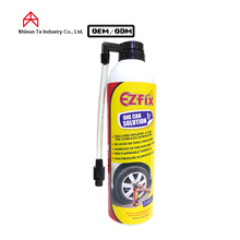 Car sealer and inflator to save puncture tire