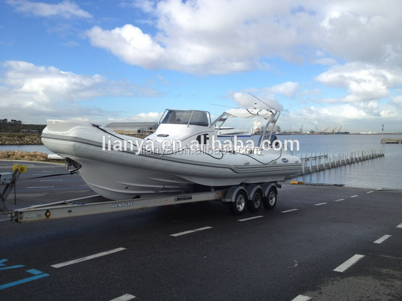 Liya 8.3meter passenger rib boat water taxi for sale