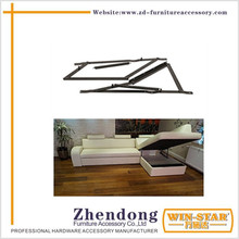 Strong Metal sofa bed frame sofa accessory hinge with spring ZD-I013