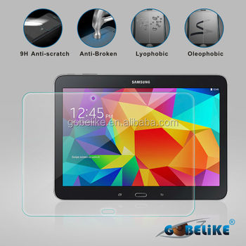 tab 4 premium tempered glass screen protector, 9H with high definition, Factory suppply