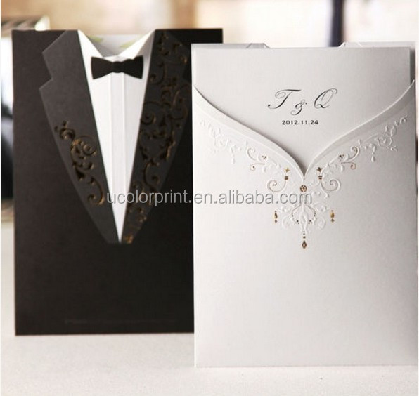 2014 new ideal products wedding cards from U color