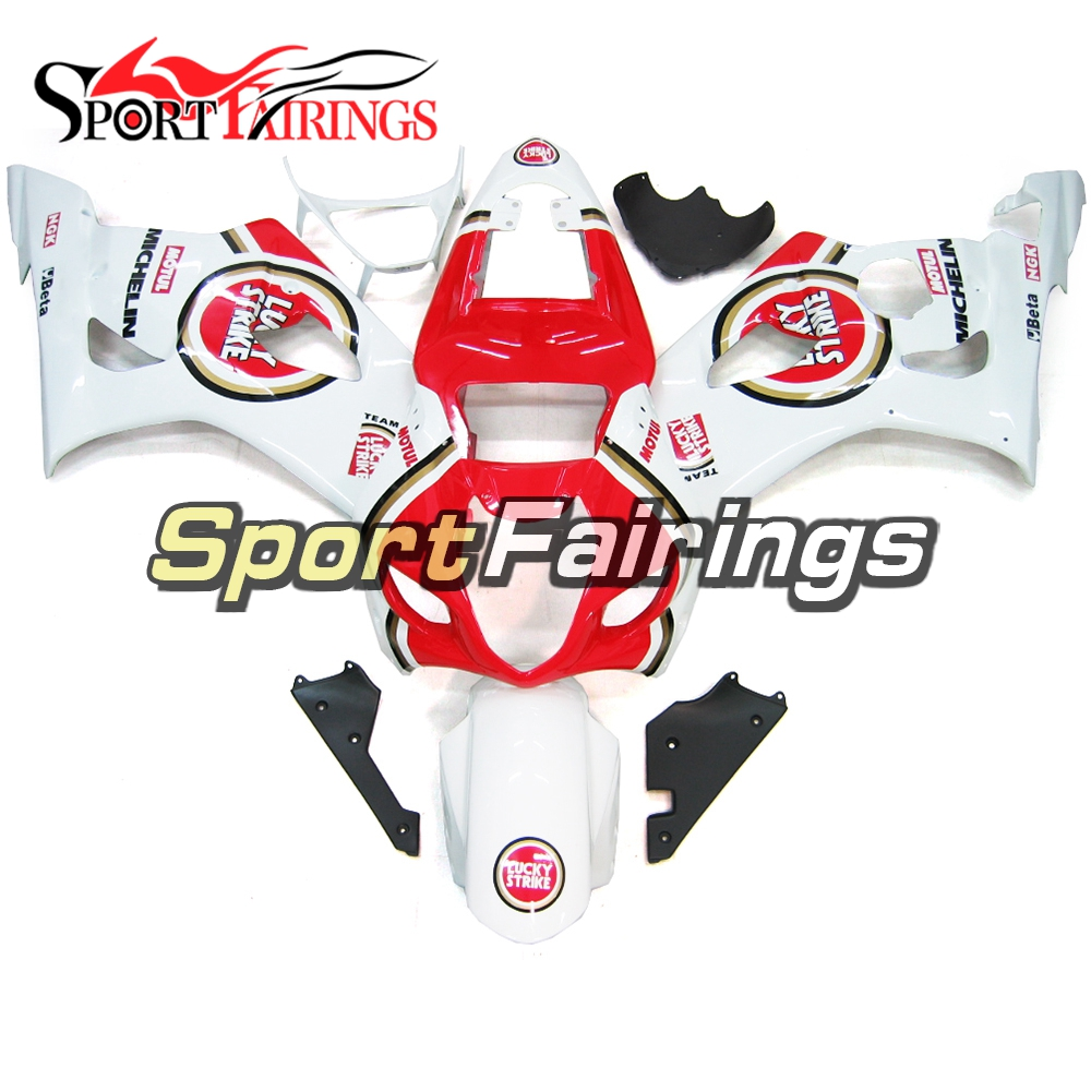 Injection Fairings For Suzuki GSXR1000 K3 03 04 ABS Plastic Complete Motorcycle Fairing Kit Body Kit Fitings White Red New