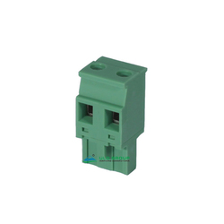 7.62 pitch 2 Pin screw green PCB terminal block connector