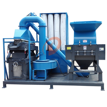 Waste cable wire copper wire shred recycling equipment plant