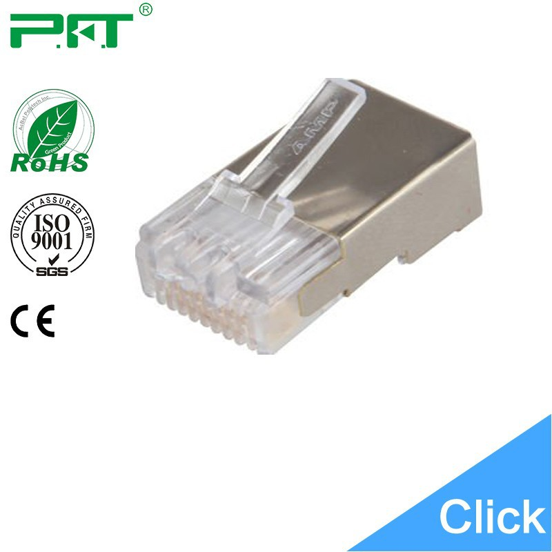 Shield RJ45 connector for Telephone cable