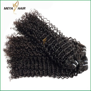 Hottest products mink hair mannequin head 100% human kinky curly hair extension