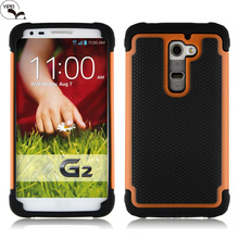 3 in 1 hybrid football case For LG G2 Silicone Case For LG G2
