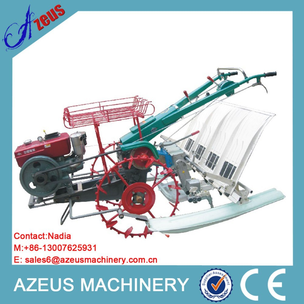 4 rows rice hand transplanter