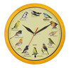 12 Inch Wood Color Antique Wall Clock Musical Funny Kids Alarm Clock