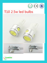 super bright car led auto bulb t10 2.5w led/T10 w5w led light t10 lamp for car