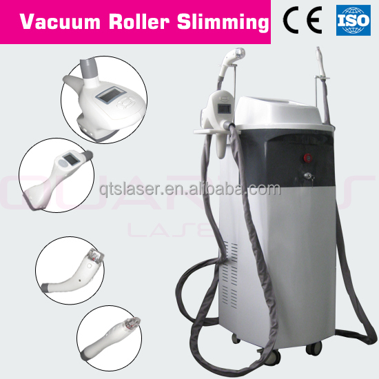Bipolar RF +Vacuum +650nm Laser Facial for Body Shapping, Skin Tightening