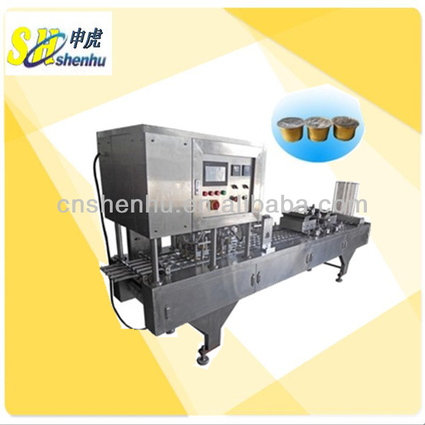 herbal tea cup filling and sealing machine