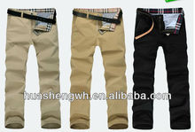 brand name mens business casual trousers professional manufacturer