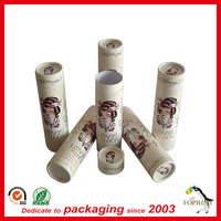 High quality round paper tube cardboard box cosmetic packaging cylindrical paper box