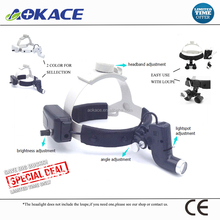 Rechargeable Dental Loupes With LED Headlight Surgical Headlight With/Without Loupes