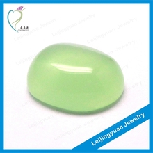 Quality green oval cheap jade rough stone