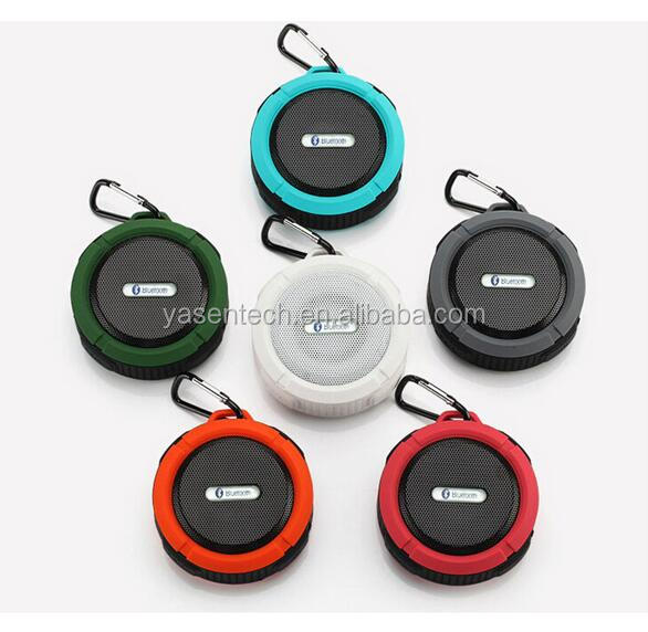 Waterproof Bluetooth Speaker Portable Wireless with Sucker For Shower Mini Speaker Support TF USB FM Radio