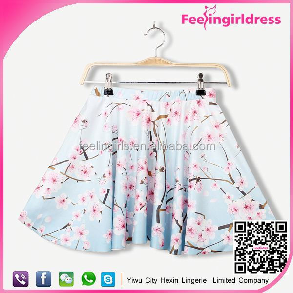 2015 hot sale new arrival mini mature women in skirts