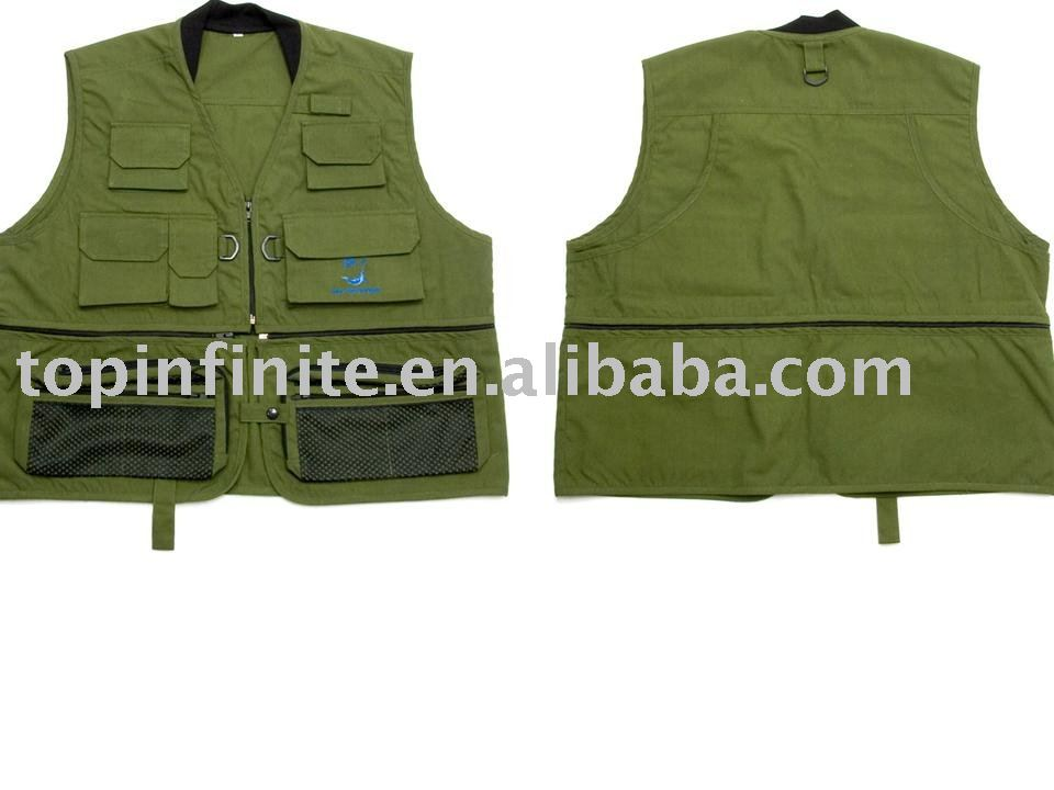 Fishing Vests, life vests, fishing tackle, FV-009
