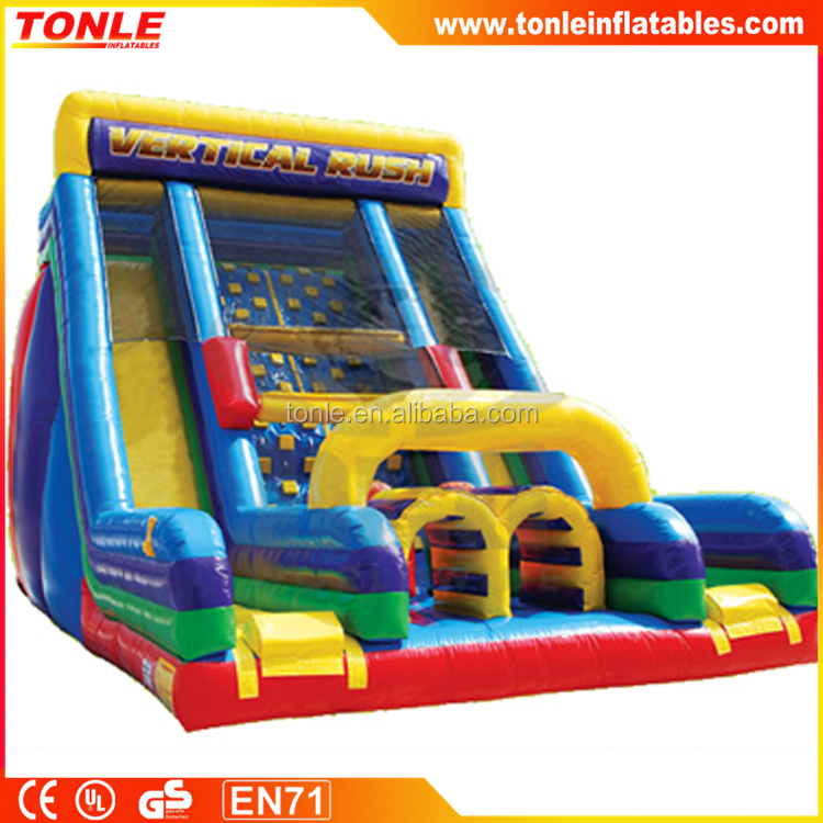 Giant Vertical Rush Inflatable Slide/ inflatable slide