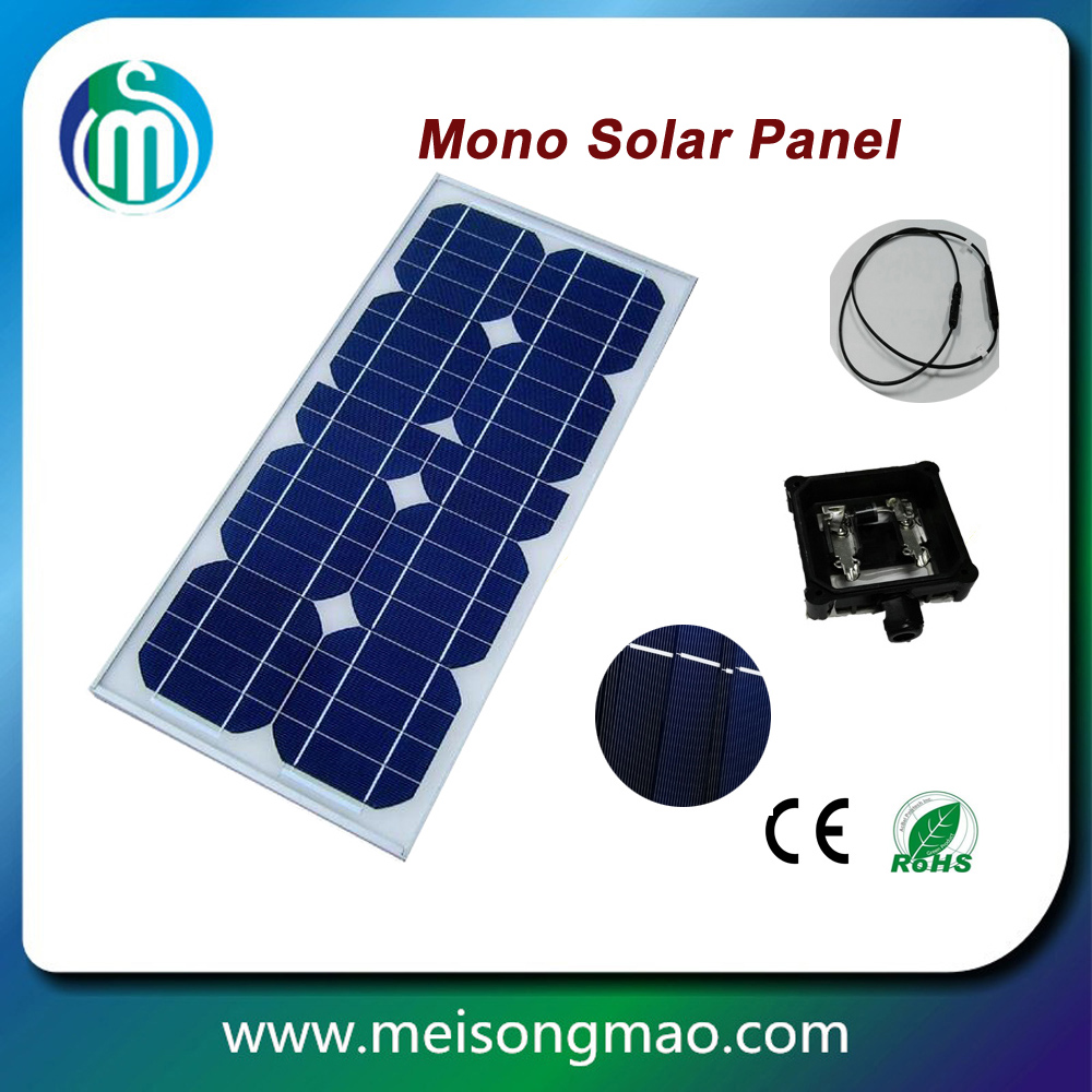 China factory wholesale single crystal silicon 80w 100w 12v suntech solar panels price