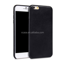 cheap Brown Color PU leather mobile phone cases for lenovo s820