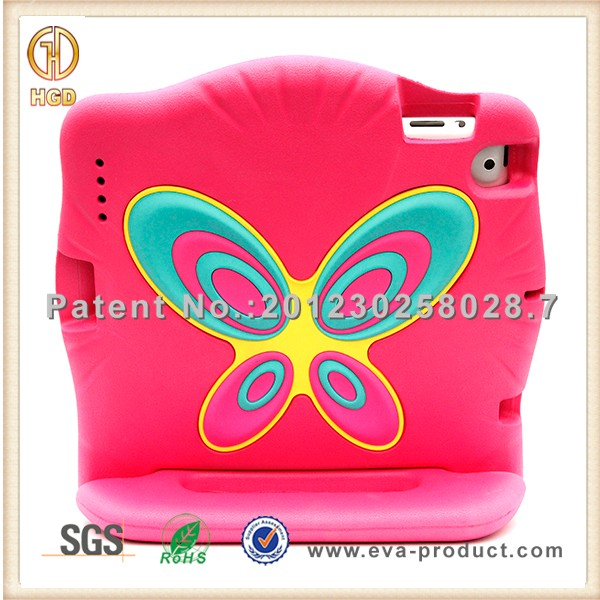 New design for eva ipad case, protective kids eva foam case for ipad 2 3 4