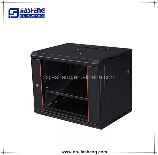 9U Depth Audio Video Rackmount network Cabinet