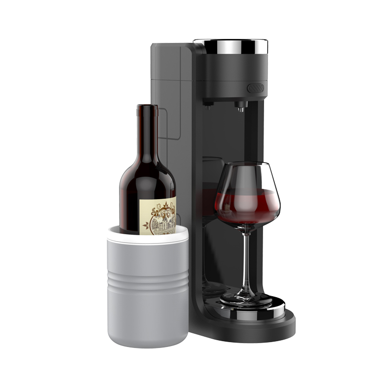 High Efficiency Multi Channels Automatic Electric <strong>Wine</strong> Aerator with Cooling Cup for Red <strong>Wine</strong>