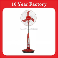 Great Indoor/Outdoor Use Rechargeable Fan Emergency Standing Air Cooling Fan With Lighting System