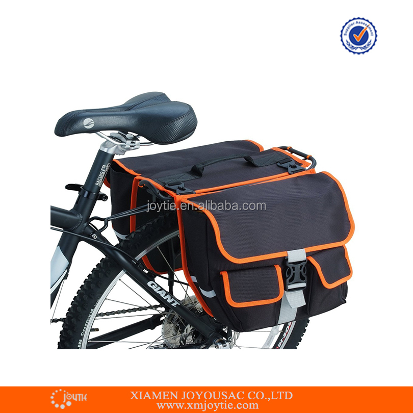 Bicycle saddle bags for touring