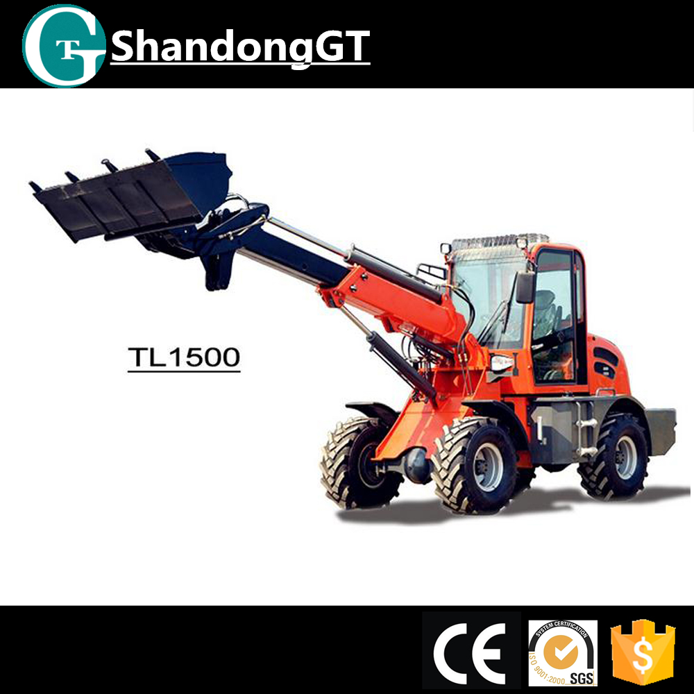 Earth Moving Machine Wheel Loader Road Construction Equipment