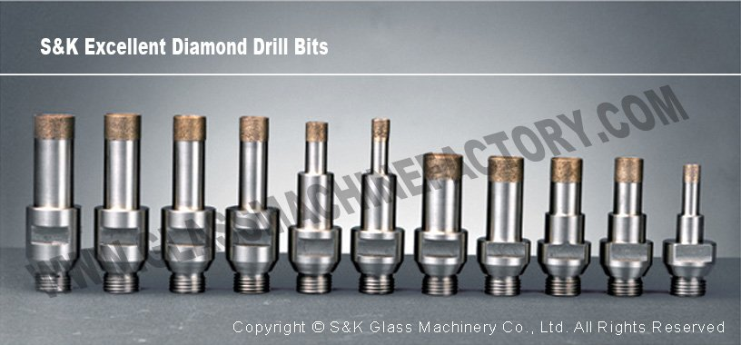Glass Machine Tools Quality Diamond Core Drill Bit For Glass