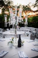 9 arms crystal centerpieces for wedding table/crystal wedding center table pieces/ wedding candelabra centerpieces MH-1474