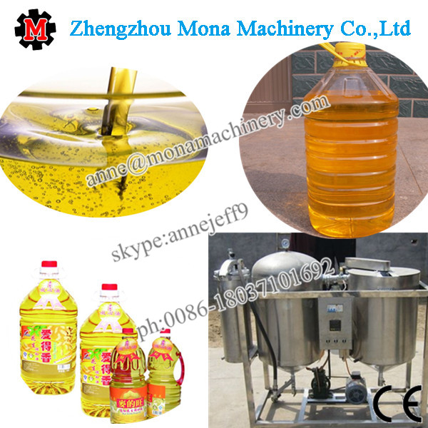 800kg/d Small production Edible oil refining mill Cooking oil refinery machine with Manufacturers supply