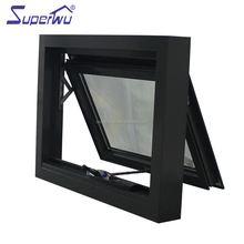 Aluminium thermal break Profile cost-effective Awning Windows AS2047 Australian standard Double Glazed Made In China