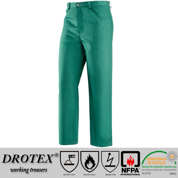 wholesale FR cotton fire retardant trousers for industry workwear