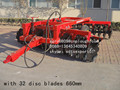 28 pcs heavy duty Compact tractor disc harrow for sale
